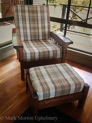 Morris Chair before upholstering